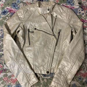 Decree Women's Metallic Moto Jacket